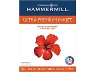 "HammerMill? Ultra Premium Inkjet Paper,  8 1/2"" x 11"", Half Case"