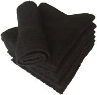 "Ring Spun Cotton Washcloth Towels 12"" X 12"" 6 Pack"