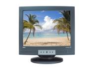 NEC Accusync AS120-BK 120 Black Cabinet 21-Inch Flat Screen CRT Monitor