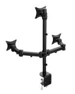 Support Lavolta pour Ecran Moniteur LCD LED TV avec des Bras Totalement Réglables - Triple