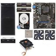 AMD FX-6100 AM3+ CPU, MSI 760G Mobo, 2x Patriot 4GB DDR3, WD Blue 500GB HDD, LG 24x DVDRW, Ultra x-Blaster Mid-Tower V2 Case w/450W PSU, 2x Kingwin Ca