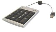 ADESSO AKP-170 Black 19 Key USB Numeric Keypad and Optical Mouse