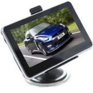 "BT Ultra Slim 4.3"" Car GPS System Navigator Sat Nav with Latest UK/EU Map 4GB"