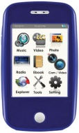 Ematic 8GB MP3/Video Touchscreen w/ 5MP Dig Camera