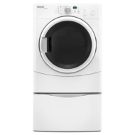 "Maytag MGDZ400TQ 27"" Gas Dryer w/6.7 Cu. Ft. Capacity (White)"