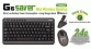 A4Tech Mini Wireless Keyboard & mouse Combo 2.4Ghz 10m Range