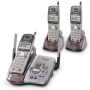Panasonic KX-TG5453PK 5.8 GHz DSS Cordless Phone with Talking Caller ID, Answering System, and Three Handsets
