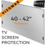 40 - 42 inch Vizomax TV Screen Protector for LCD, LED & Plasma HDTV