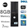 Power PC Dell OptiPlex Core 2 Duo 8GB 1TB with Dell Monitor - WiFi Genuine Windows 7 - DVD