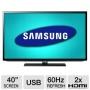"""Samsung 40"""" 1080P Led Hdtv"""