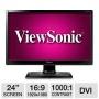 "Viewsonic LED LCD VA2406m-LED 23.6"" Black Full HD"
