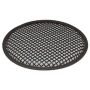 """L091B Black Metal Mesh Speaker Grill - 8"""" (204 mm)"""