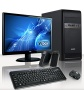 """VIBOX Tower Package 1 - 3.9GHz AMD Dual Core, Complete Desktop PC, Computer Package for the Home, Office or Family - Full Package with 19"""" Monitor, Sp"""