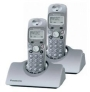 Panasonic KX-TCD412ES DECT cordless telephone including additional handset and charger