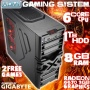 ADMI FX-6100 Gaming PC, Home PC, Desktop PC (AMD FX-6100 Six Core Bulldozer CPU, AMD Radeon 6670 2GB Graphics Card, 1TB Hard Drive, 8GB DDR3 Memory, H