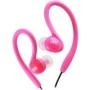 Jvc HAEBX85P Inner Ear Sports Clip Headphone, Pink