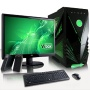 "VIBOX Standard Package 3 - Cheap, Home, Office, Family, Gaming PC, Multimedia, Desktop PC, Computer Full Package Including Windows 7, 22"" Monitor, Spe"