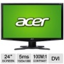 G245HQL BD Black 24 LCD Monitor (1920x1080, 5 ms, DVI)