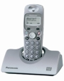 Panasonic KX-TCD422ES DECT Cordless Phone With Answer Machine And Additional Handset & Charger - Metallic Silver
