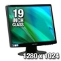 "Hanns·G HH193DPB Black 19"" 5ms LCD Monitor 250 cd/m2 X-Contrast 15,000:1 (1000:1) Built-in Speakers"