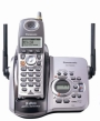 Panasonic KX-TG5634BP 5.8 GHz Cordless Telephone w/Digital Answering machine and 3 Handsets
