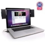 GOgroove SoundClip Portable USB Clip-On Laptop Speaker System for Toshiba , Asus , Mac , Macbook Pro , HP , Samsung , Acer , Dell , Sony , Lenovo Lapt