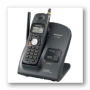 Panasonic Cordless Phone, 2.4GHZ, Caller ID, 90 Channel System, Black