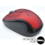 V220 Ruby Red Cordless Optical USB Mouse - Designed for Dell