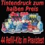 Tintendruck zum halben Preis: 44 Refill-Kits im Praxistest