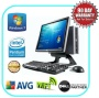 """DELL Optiplex 745 USFF All in One Dual Core PC Desktop Computer system w/ Windows 7 Pre- Installed + DELL 17"""" TFT Wi-Fi Ready & FREE Keyboard & Mouse"""