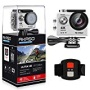 AKASO EK7000 4K WIFI Sports Action Camera Ultra HD Waterproof DV Camcorder 12MP 170 Degree Wide Angle 2 inch LCD Screen/2.4G Remote Control/2 Recharge
