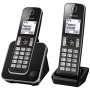 Panasonic KX-TGD312ED Digital Cordless Phone with Nuisance Call Control, Twin DECT