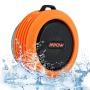 Mpow Enceinte portable sans fil, Hifi stéréo Bluetooth 4.0 Portable, 1000mAh batterie + 5w puissance Résistant à l'eau et au choc - Orange
