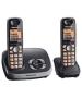 Panasonic KXTG6522EB Telephone with Answer Machine - Twin.