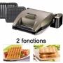 LAGRANGE 019422 piastra per waffle