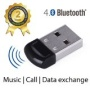 Avantree DG40S Bluetooth 4.0 USB Dongle Adaptateur Micro USB, basse énergie - pour Windows 7, Windows 8, XP, Vista, supporte lecture stéréo Bluetooth