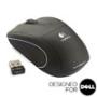 V450 NANO Cordless Laser Mouse - Jet Black - Designed for Dell