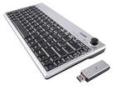 ione Scorpius-P20 Black USB RF Wireless Mini Joystick Keyboard Mouse Included - Retail