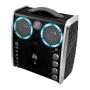 The Singing Machine Portable Cd & Graphics Karaoke System Black