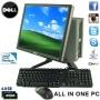 """SUPER FAST ULTRA SMALL DELL ALL IN ONE PC 4GB + 17""""TFT WIFI WINDOWS 7 (P4-3)"""