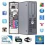 Small DELL OptiPlex PC 1000GB 4GB Intel Dual Core CPU DVD + WiFi Genuine Windows 8 Operating System (P1-7-8)