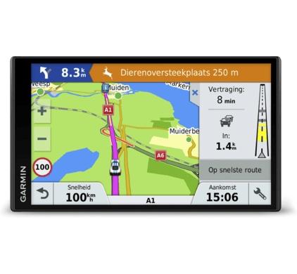 GPS Estuche en Negro Para Garmin Nuvi 2455LMT 2475LT 2495LMT GPS SAT NAV