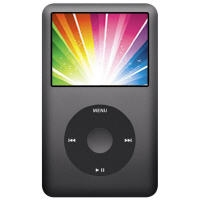 30GB Full working 835 Apple iPod Classic 5th Generation Black