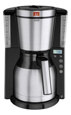 Melitta Thermo-Kaffeemaschine Look Therm Selektion M 661 BKSST schwarz//Edelstahl